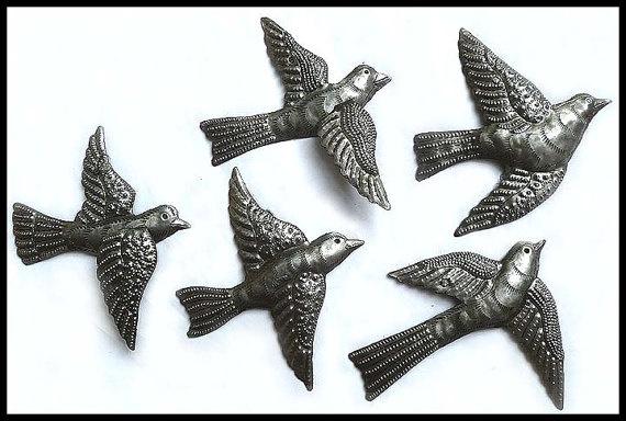 Metal Flying Birds Wall Art - Best Bird 2018