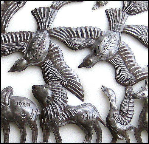 Noah's Ark - Haiti metal art