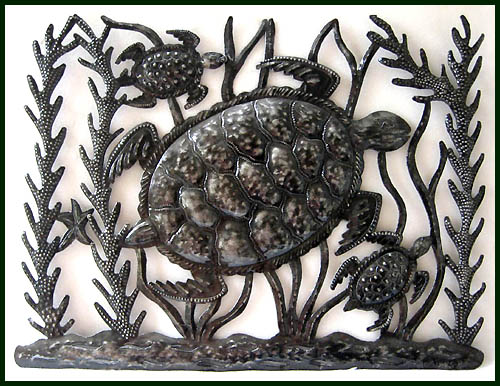 Relatively Metal Fish Wall Art - Sealife - Haitian Metal Art Designs DK22