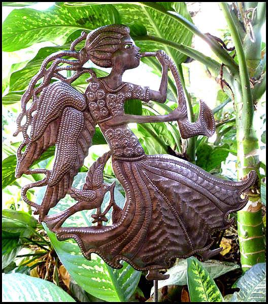 Brand-new Metal Garden Plant Sticks - Stakes - Haitian metal art garden art JI45