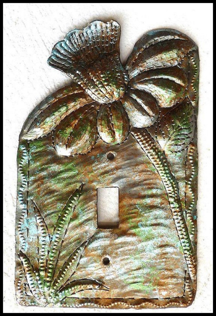 metal light switch cover