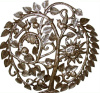 "Tree of Life Wall Hanging - Metal Wall Art, Haitian Steel Drum Metal Art - 28"" x 30"""