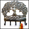 Tree Design, Tree of Life Metal Art, Haitian Metal Art Wall Hook, Haitian Steel Drum Art, Metal Hook