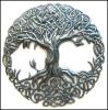 Metal Tree, Irish Art, Metal Wall Art, Celtic Art, Celtic Knot, Tree of Life, Celtic Design, Outdoor Metal Art, Irish Decor, Metal Tree, Irish Gift