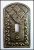 Switchplate - Metal Switchplate Cover - Haitian Steel Drum Art
