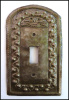 Metal Light Switch Cover - Switchplate - Hammered Haitian Steel Drum